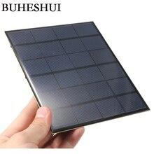 BUHESHUI эпоксидная 3,5 Вт 6 в Мин Солнечная батарея Diy солнечная панель система Модуль Солнечное зарядное устройство для 3,7 в батареи для обучения 165*135*3 мм