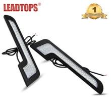 2pcs Waterproof  DRL L-Shape High Power Car Daytime Running Lights Led Strip Lamps 12v 6w Styling CJ
