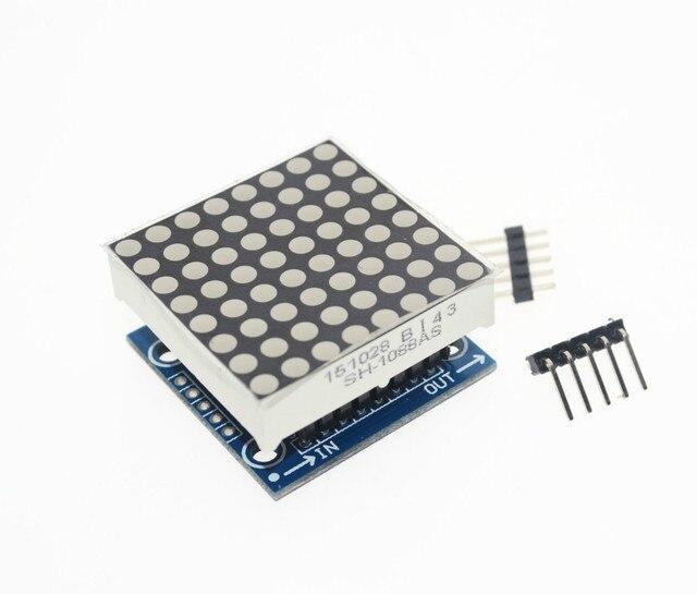 Free shipping! 1PCS MAX7219 dot matrix module microcontroller module display module finished goods