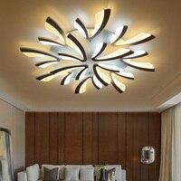 Işıklar ve Aydınlatma'ten Avizeler'de Yeni varış Modern akrilik avizeler lambaları oturma odası yatak odası yemek odası mutfak ev avizeler aydınlatma AC 220V 110V