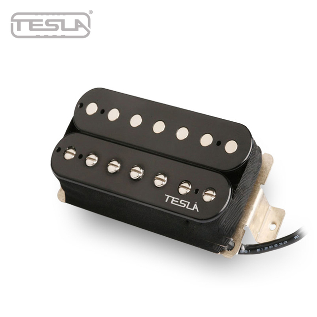 Wondrous Tesla Pickup Humbucker Plasma 71 7 String Ceramic Black Color Pls Wiring Digital Resources Indicompassionincorg