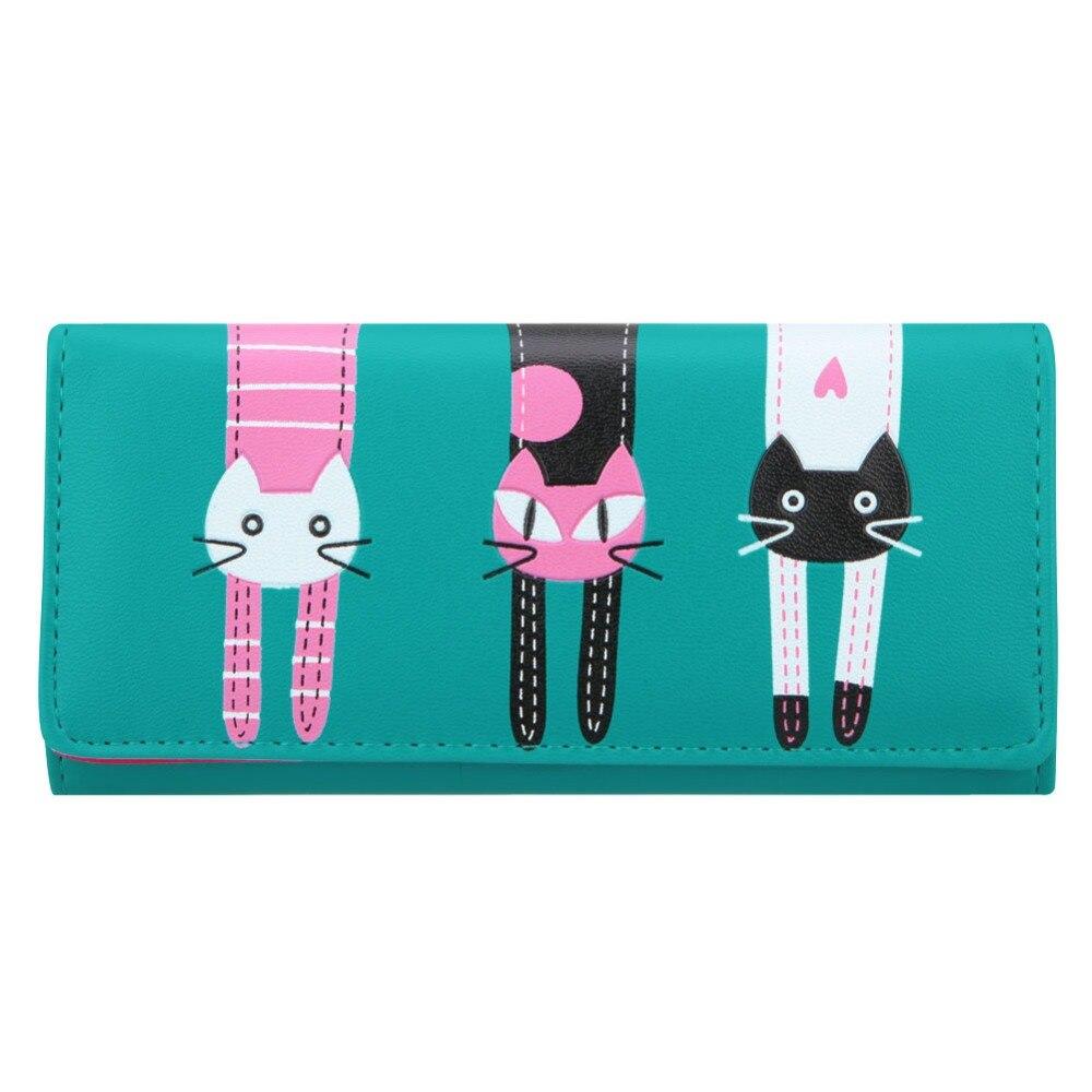 moeda gato bonito zipper carteira Tipo de Estampa : dos Desenhos Animados
