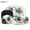 Alta qualidade 2 folhas De Cânhamo cor C & S hip hop Snapback cap moda de rua tendência gorras ajustável das mulheres dos homens de beisebol cottom chapéu