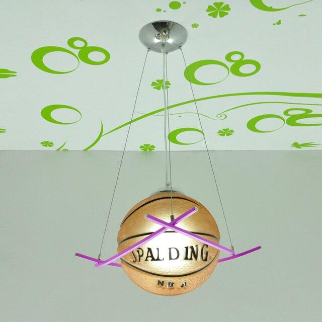 aliexpress koop jongen slaapkamer basketbal hanglamp