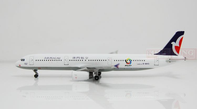 A13091 Apollo Macao Airlines B-MAQ A321 2005 East Asian Games 1:400 commercial jetliners plane model hobby a13036 apollo indonesia aviation pk gsh 1 400 commercial jetliners plane model hobby b747 400