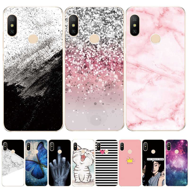 soft silicone case for Xiaomi MI A2 LITE Case Full Protection Soft tpu Back Cover Phone Cases For Xiomi MI A2 LITE bumper Coque