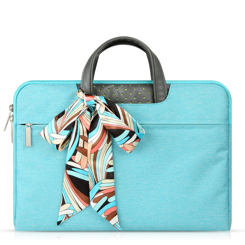 Aerospace Style Nylon Handbag Laptop Briefcase Protective Sleeve Cases For Dell HP Asus MacBook Air/Pro 11-15.6 inch Laptop Bags
