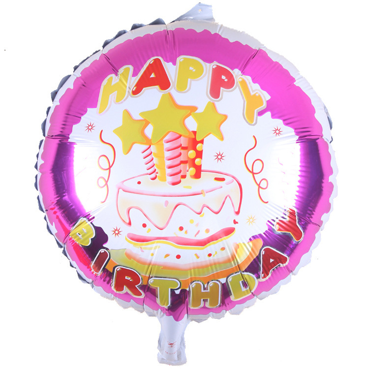 Decoration 18inch cake foil 10 pieces balloons wedding event christmas halloween festival birthday party HY 301 in Ballons Accessories from Home Garden