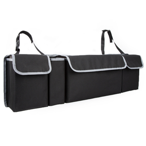 Image 2 - KAWOSEN Car Trunk Organizer Adjustable Backseat Storage Bag High Capacity Multi use Oxford Automobile Seat Back Organizer CTOB02