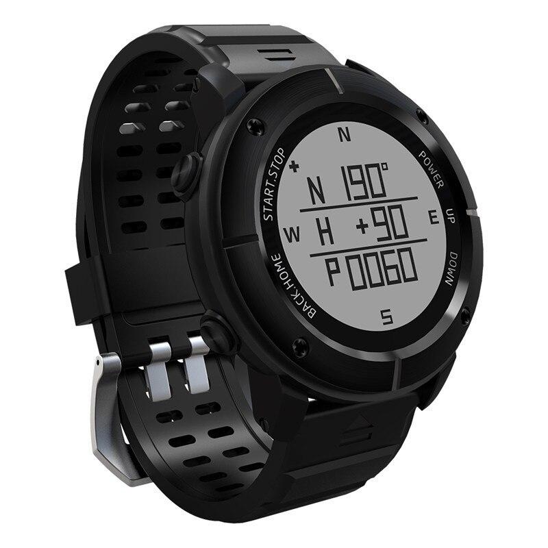 UW80 Outdoor Sports GPS Compass Smart Watch Heart Rate Monitor ip68 Waterproof Barometer Watch for Hiking Swimming Marathon