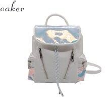 Caker Brand 2019 Women Silver Drawstring Backpack Wholesale