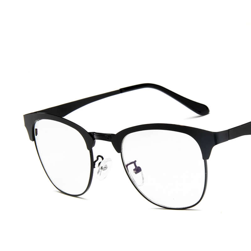 68b17548685 Fashion Round Metal Frame For Men Women Brand Classic Eyeglasses Frame  Optical Eye Glasses Spectacle Frame oculos de grau