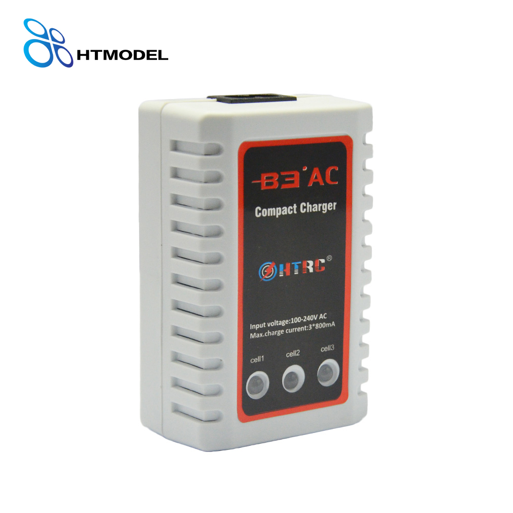 2S-3S Lipo Battery AC 20W Compact Balance Charger B3 Pro HTRC B3 for imaxrc imax b3 pro compact 2s 3s lipo balance battery charger for rc helicopter