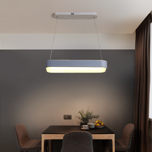 NEO Gleam New Dimmable Modern led Pendant Lights For Dining Room Kitchen Hanging White or Grey RC Lamp Fixtures