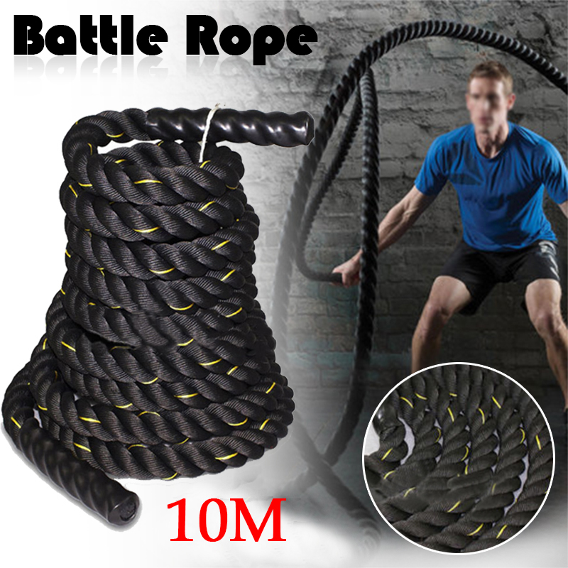 Undulation Battling Rope Polyester Physical Body Strength Training Fitness Workout Exercise with Wear Resistance 15M/10M x 38mm effects of physical exercise on hypertension