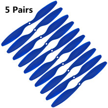 1045 props for multicopter quadcopter FPV Blue 5 pair 1045 Props 10x4 5 CW CCW Propeller