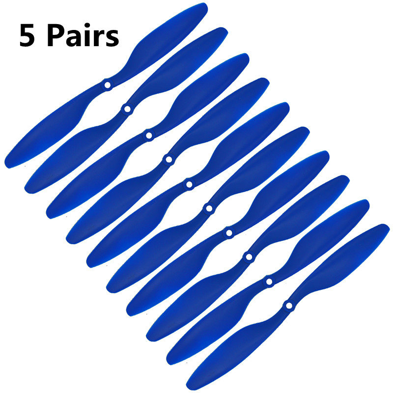 10psc 10x4.5 1045 Carbon Fiber Propeller Blade CW CCW Props for RC Camera Drone Props 10inch F450 F550 DIY RC Parts 8mm Hole high quality 1pair gemfan 1045 nylon propeller blade cw ccw for rc fpv quadcopter rc racing drone frame spare parts diy