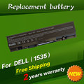 JIGU Replacement Laptop Battery For Dell Studio 1535 1536 1537 1555 1557 1558 WU946 KM958 A2990667 312-0701 5200mah 6 cells