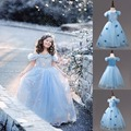 baby girls princess Cinderella dress Christmas children cosplay costume dress fairy tale princesa party dress vestido infantil