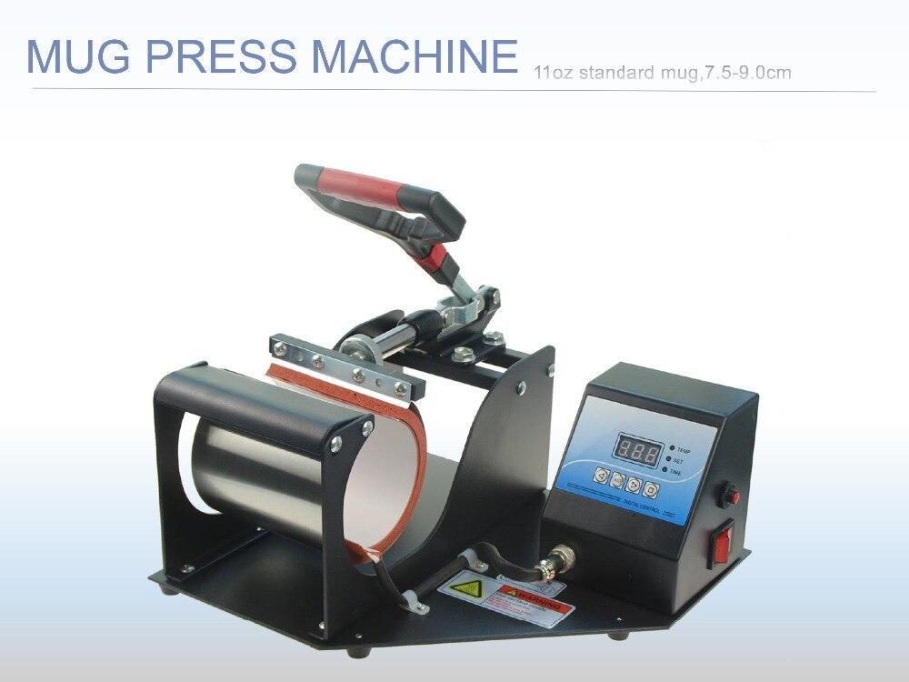 Free Shipping Sublimation Mug Press printing for Portable Digital Cup Mug Heat Press Machine
