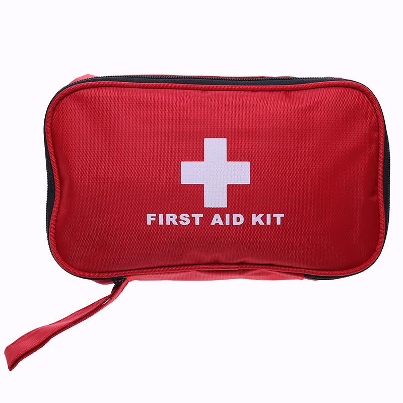 180pcs Set Safe Travel First Aid Kit Oxford cloth Hiking Medical Emergency Kit Treatment Pack Outdoor Wilderness Survival new gbj free shipping home aluminum medical cabinet multi layer medical treatment first aid kit medicine storage portable