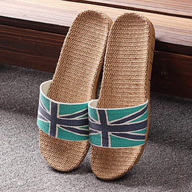 Орем домой белье тапочки летние мужчины и женщины пара тапочки закрытый этаж скольжения сандалии и тапочки