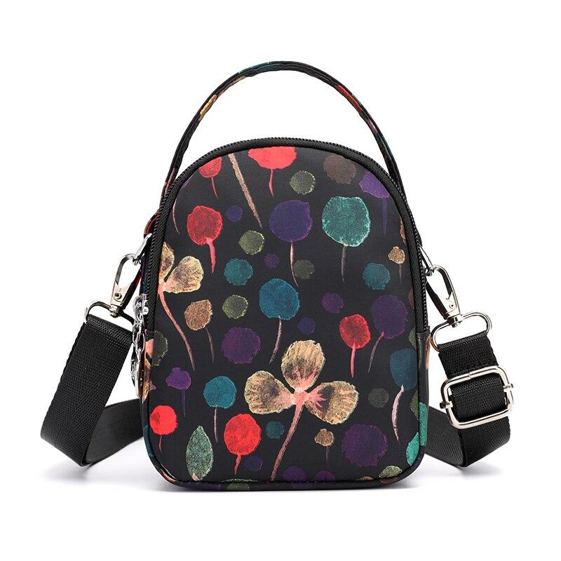 50bdc8e47167 JIELSHI Multi Pocket Design Casual Shoulder Bag For Young Girls Fashion  Women Nylon Handbags Small Crossbody Women Bags-in Shoulder Bags from  Luggage   Bags ...