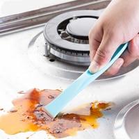 Küche gasherd doppel ende reinigung schaber kreative multifunktions dekontamination slot schaben kleinen tank waschmittel flecken-in Abzieher aus Heim und Garten bei