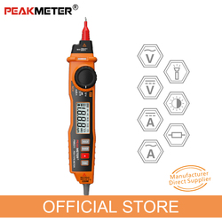 PEAKMETER MS8211 Digital Multimeter 2000 Counts Pen Type with Non Contact  ACV/DCV Electric Handheld Tester