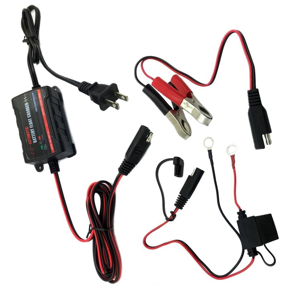 8 pièces voiture 6 V 12 V voiture batterie flotteur Trickle chargeur multi-usages batterie chargeur