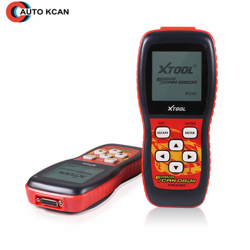 Scanner universel OBDII XTool PS100 100% mise à jour originale en ligne CAN-BUS OBDII Interface de lecteur de Code DHL livraison gratuite