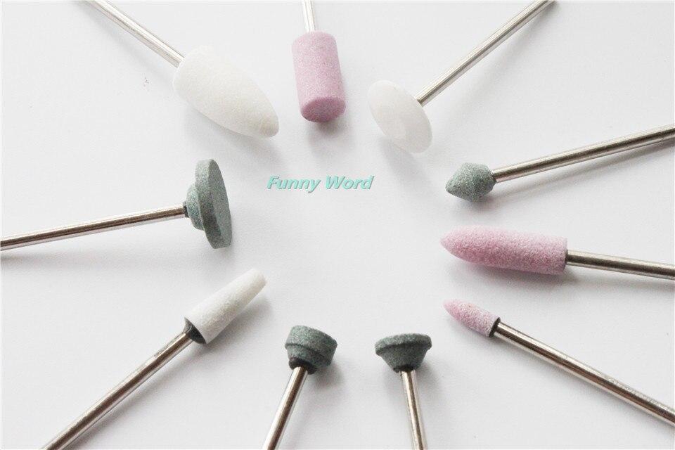 ⑤Envío libre 50 unids mezclado dental grava de cerámica gruesa ...