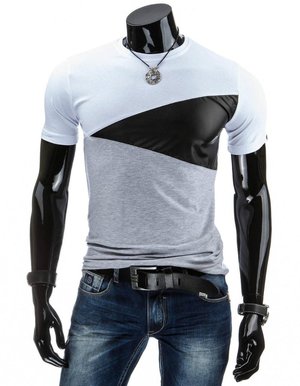 2016 Designs Mens T Shirt Slim Fit Crew Neck T Shirt Men