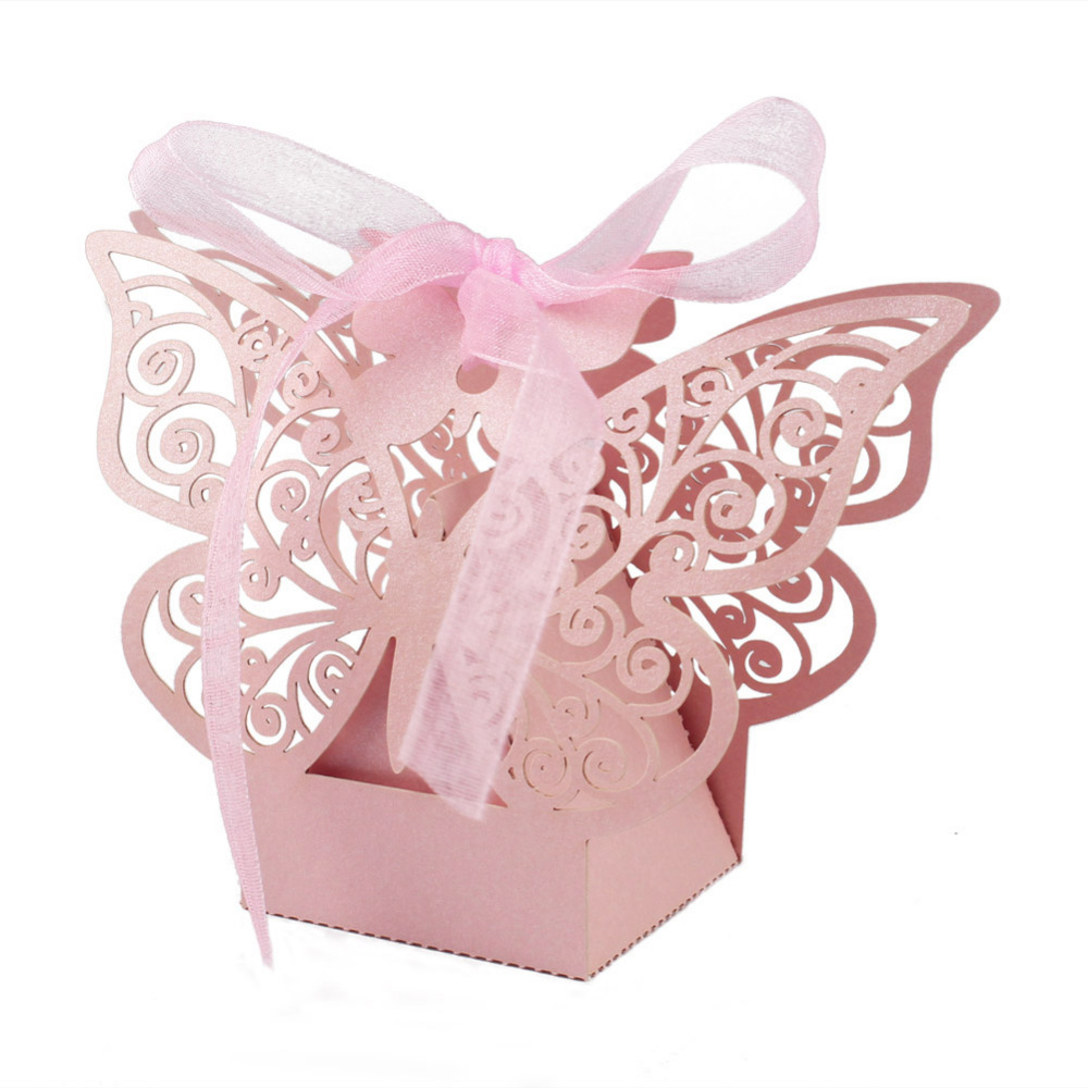 Ourwarm 10Pcs Cute Paper Candy Box Wedding Favors Gift Box Chocolate ...