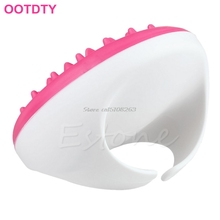 New Handheld Bath Shower Anti Cellulite Full Body Massage Brush Slimming Beauty #Y207E# Hot Sale