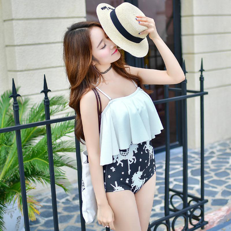 Swimming Suit For Women Sexy One Piece Swim Suits Bikinis Woman Large Size Swimsuits 2017 New Triangle Pants Built Underwire women s swim suits 3 piece bikinis set new arrival stylish crochet swim wear swimming suit high quality swimsuits
