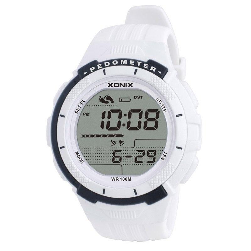 Hot!!!  Pedometer Calories Women Sports Watches Waterproof 100m Digital Watch Running Swimming Diving Wristwatch Montre Femme