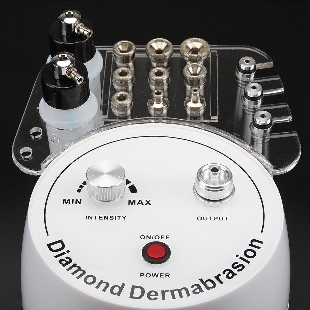 Machine de diamant de microdermabrasion d'épluchage de peau de dermabrasion d'eau de nettoyage faciale