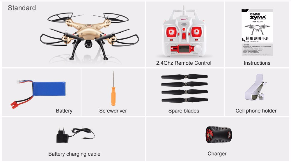 SYMA Official X8HW FPV RC Drone with WiFi HD Camera Real-time Sharing Drones Helicopter Quadcopter Dron with Hovering Function 8
