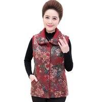 New 2018 Autumn Winter Women cotton vest white duck down soft warm waistcoat plus size 4XL female outwear vest coat YM1185