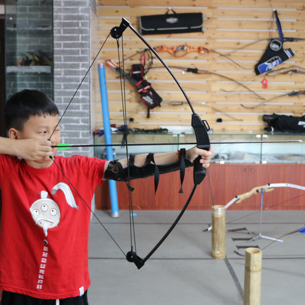 Archery Bow Child Hunting Shooting Exercise Practice Children Compound Recurve Bow Outdoor Younth Kids Darts children s recurve bow
