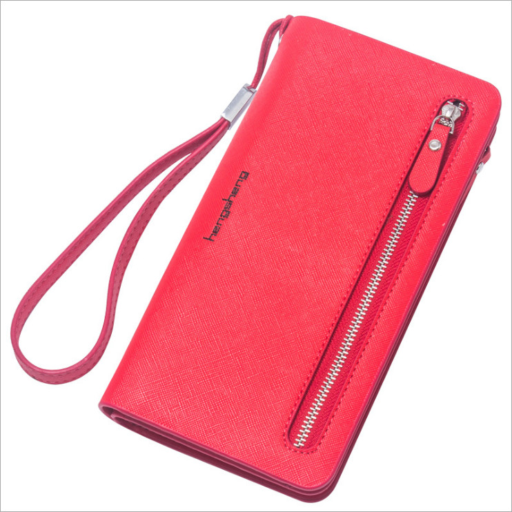 Hot Fashion Female wallets High quality PU Leather Wallet Women Long Style