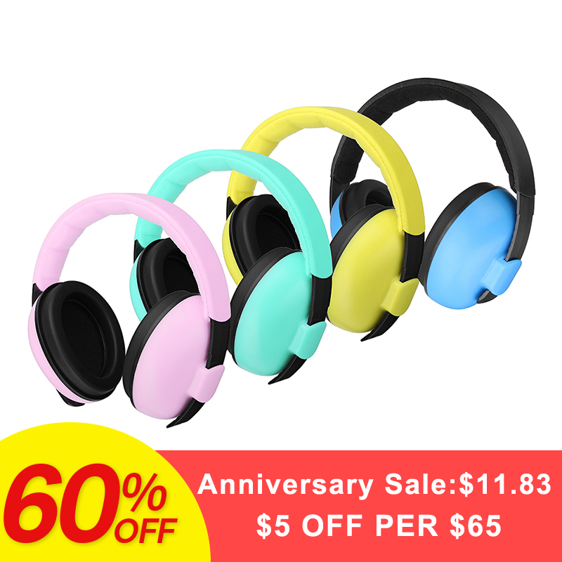 Protège-oreilles doux pour enfants pour les soins de bébé réduction du bruit Protection d'oreille protège-oreilles pour enfant de 3 mois à 4 ans