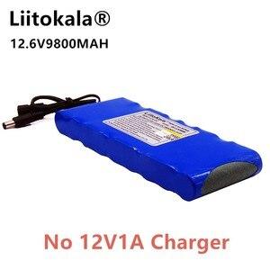 Image 3 - HK LiitoKala haute qualité EU/US Plug DC 12 V 9800 mAh Lithium Ion batterie Rechargeable charge puissance Mobile pas de chargeur 12V1A