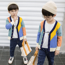 Susi&Rita 2019 Fall Boys Sweaters Long Sleeve Cotton Pullovers Baby Boys Knitted Cardigans Winter Christmas Children Clothing susi