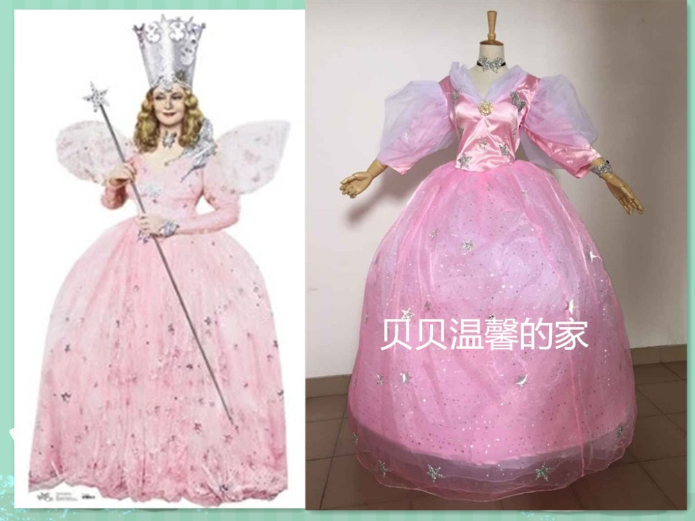 Wizard Of Oz Costumes Glinda Glinda The Good Witch And Dorothy Costume
