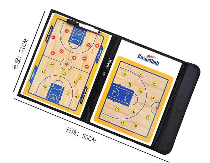 Wholesale Foldable Basketball Tactics Board Teaching Coach Board Basketball Contest Demonstrator