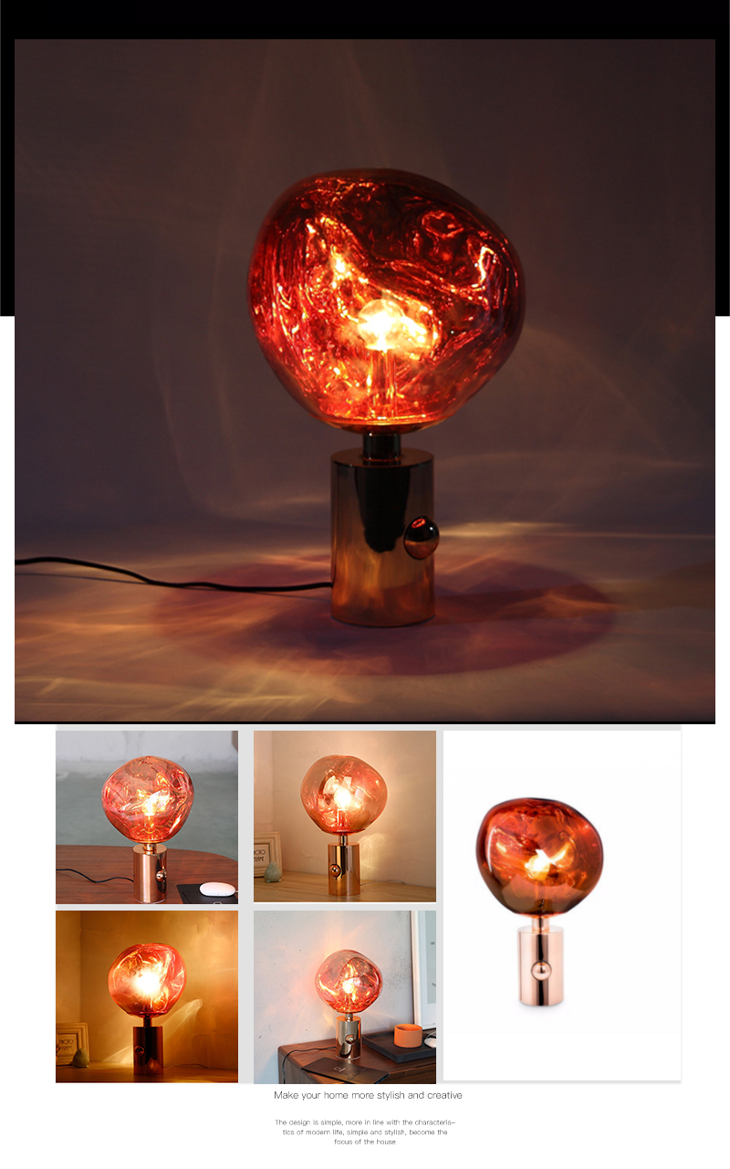 IKVVT настольная лампа нерегулярные области чтения Настольный светильник креативный Настольный светильник s для Гостиная прикроватная лампа украшение дома светильник Инж