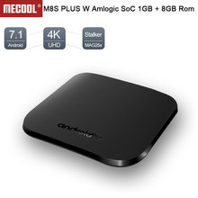 Mini M8S Plus W Smart Android 7.1 TV Box 1GB ram 8GB rom Amlogic S905W Quad Core 2.4G WiFi IPTV 4K Player set top box