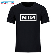 In summer 2018 fashion leisure cotton loose size t-shirt men print rock band T-shirt More size and color